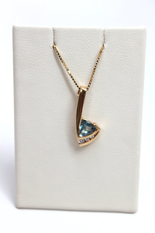 Blue Aqua Pendant