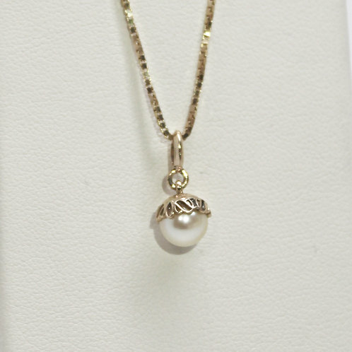 Drop Pendant With Pearl