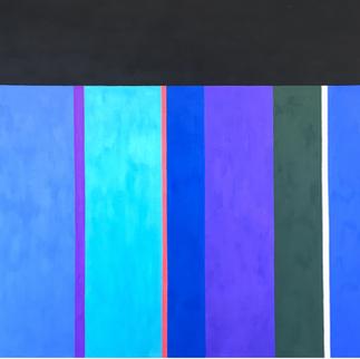 Modrá kompozice