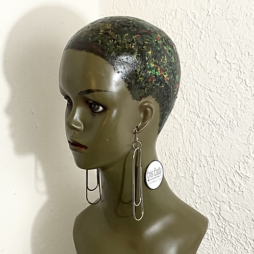 Paper Clip Earrings