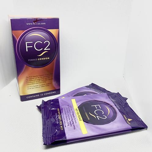 Internal Condoms - 2 pack