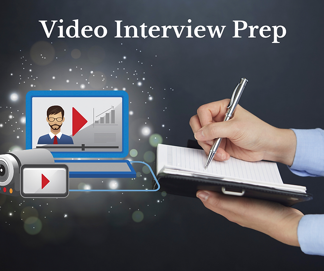 Add On - 1/2 Hour Video Interview Prep