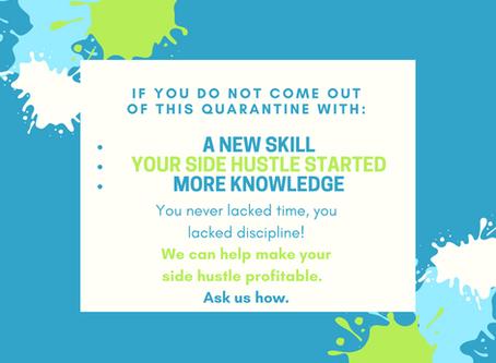 Learn, hustle, grow. We can help ❤️