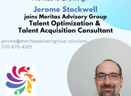 Meritas is Growing - Welcome Jerome Stockwell
