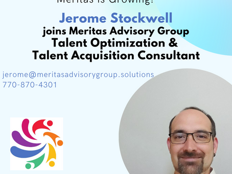 Meritas is Growing - Welcome Jerome Stockwell