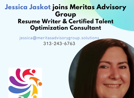 Meritas Advisory Group Resume Writing team is growing - welcome Jessica Jaskot