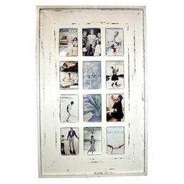 Rustic wooden frame