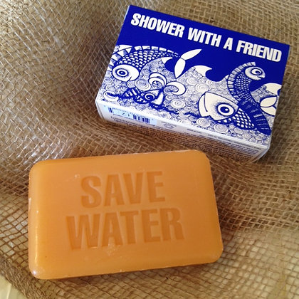Save water conservation soap