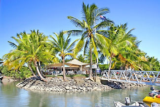 Port Douglas Yacht Club viewed from Dickson Inlet