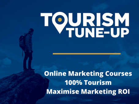 Online Tourism Marketing Planning Course for $95 per month*