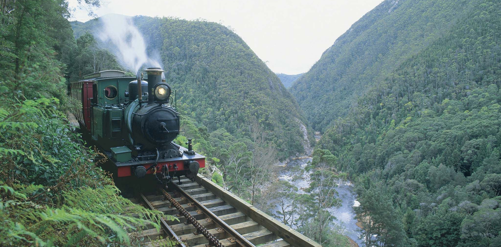 West Coast Wilderness Railway, TASMANIA