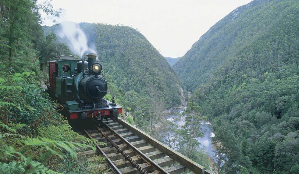 West Coast Wilderness Railway, TASMANIA