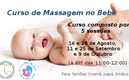 Curso de Massagem no Bebé