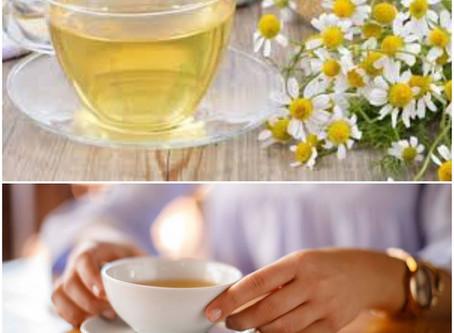Relaxar com chá de camomila?