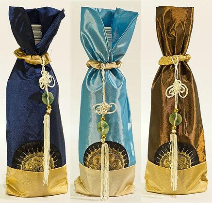 Bottle sleeve 3x China Slik