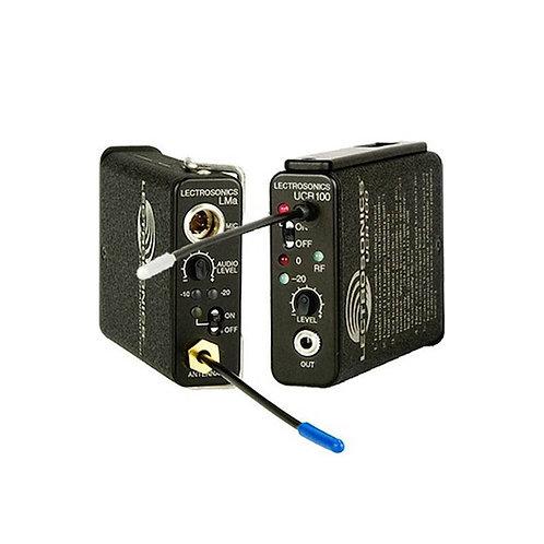 Lectronsonics UCR 100 receiver/ UHF UR 100 Transmitter