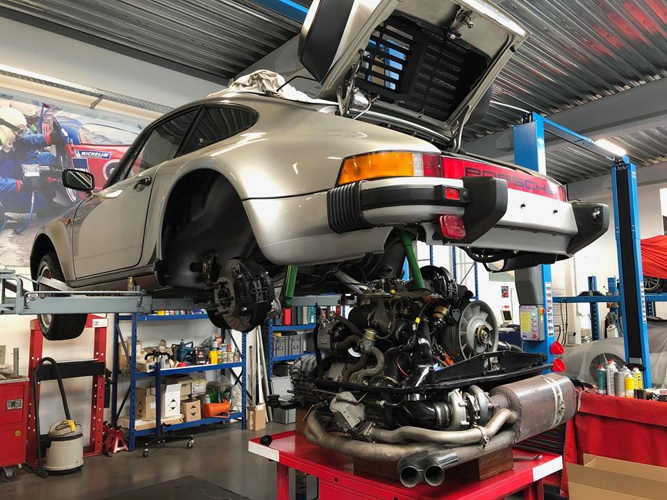 Rénovation Porsche 930 Turbo