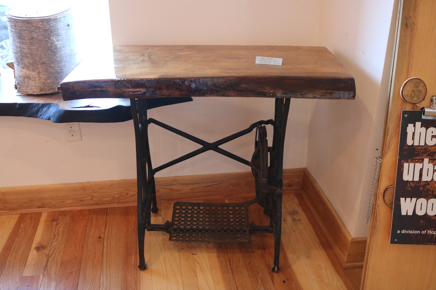 Sewing Machine Sofa Table