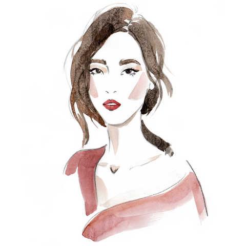 Live Portrait Illustration