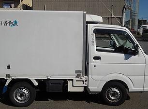明日香物流の企業専属便用トラック