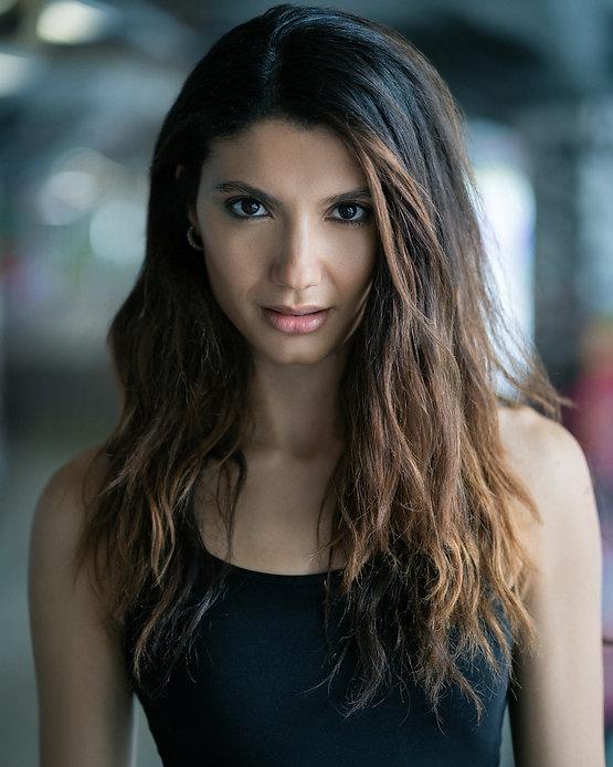 Andrea Vasiliou - Actor - Actress - Model - Headshot - Portrait - Actor's Headshot - London