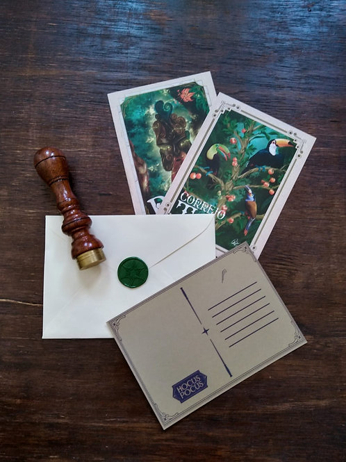 Kit de cartões postais