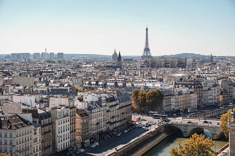Vue Paris Tour Eiffel