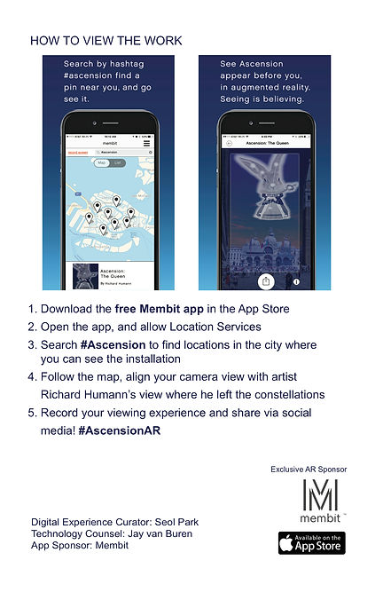 how to view acension, membit