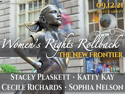 womens rights, brave girl, statue, katty kay,  cecile richards, stacey plaskett, sophic nelson, girl code, woman code