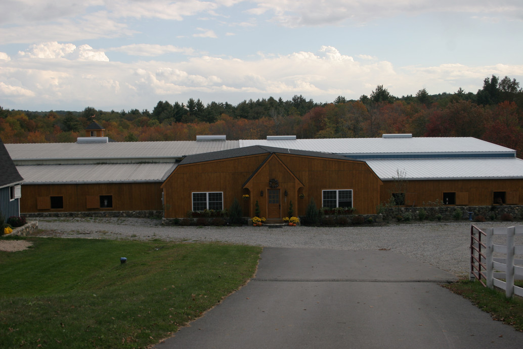 The Upper Barn Front Entrance