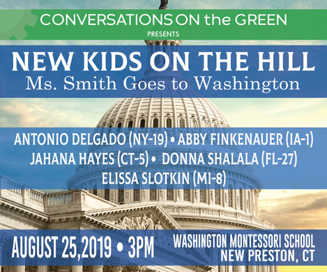 NEW KIDS ON THE HILL: Ms.Smith Goes to Washington
