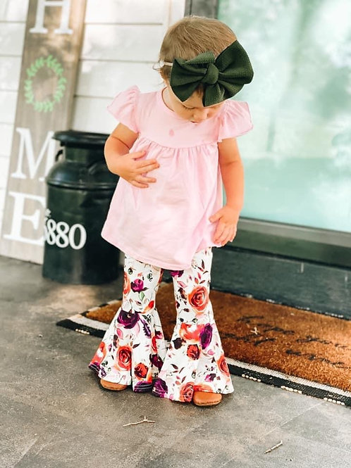 Fall floral flares