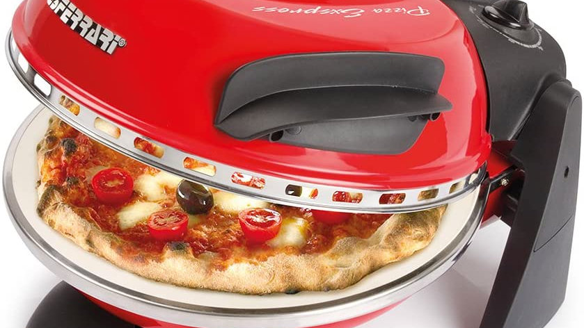 COMPACT Stone Pizza Oven (red)