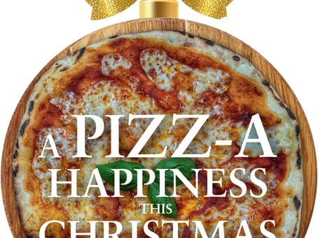 This XMAS, spread a Pizz-A Happiness