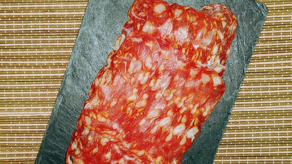 SPICY ITALIAN SALAMI - SCHIACCIATA, the fine pepperoni