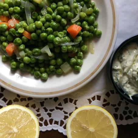 Αρακάς λεμονάτος με πρωτόλαδο