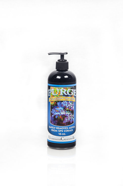 16 oz. Purge, In Tank Acropora Eating Flatworm Treatment - In Stock
