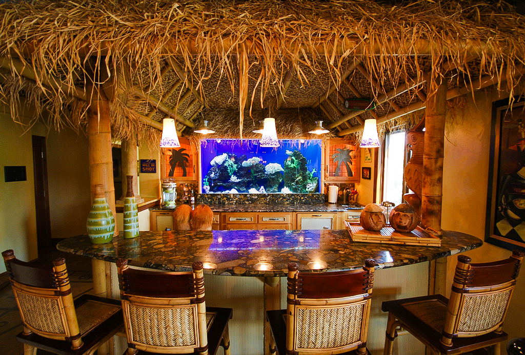 Tiki Bar Aquarium