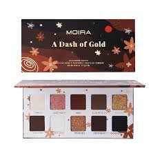 MOIRA - A Dash of Gold Eyeshadow Palette