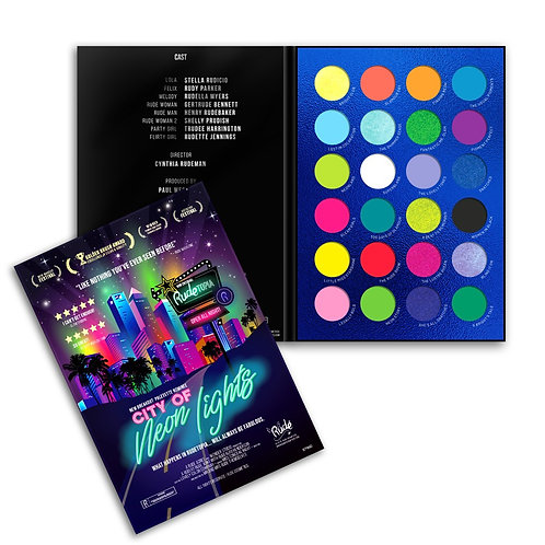 RUDE - City of Neon Eyeshadow Palette