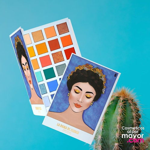 KARA BEAUTY - La Dama de Flores Shadow Palette