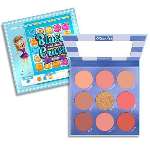 RUDE - Level Up 9 Color Blush Crush