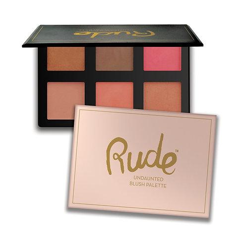 RUDE - Undaunted Blush Palette