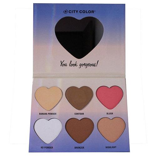 CITY COLOR - Hello Beautiful Palette