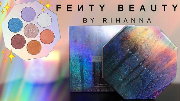 FENTY BEAUTY - Freestyle Highlighter Palette by Ryhanna