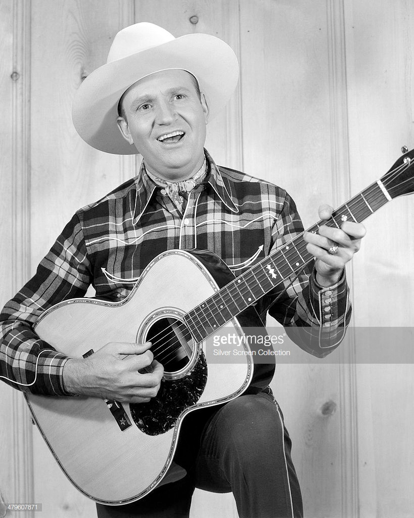 American actor and singer Gene Autry (1907 - 1998) (Photo by Silver Screen Collection/Getty Images)