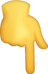 Down_Pointing_Backhand_Index_Emoji_Icon_