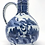 Thumbnail: A striking 17th C Japanese Arita export jug, German stoneware form, c1665