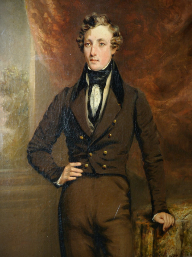 JOHN FLEMING OF GREENOCK   Portrait of William Holborn Fyfe, 1837