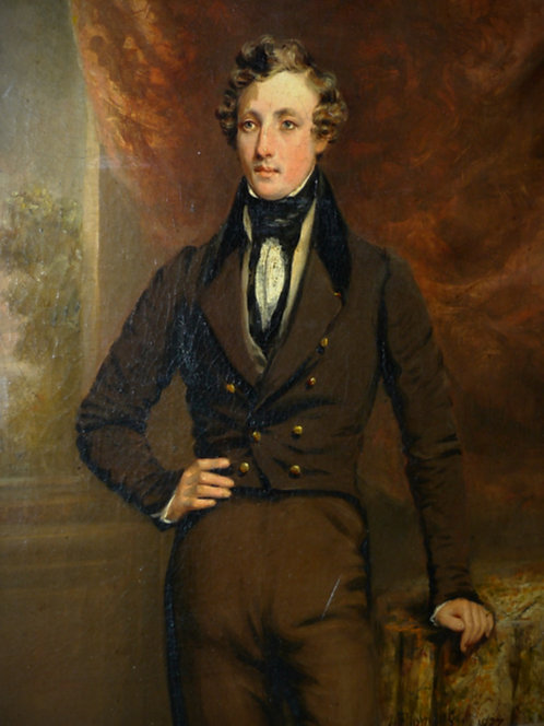 John Fleming of Greenock (1792-1845)  Portrait of William Holburn Fyfe, 1837